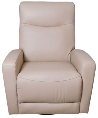 Palliser Saratoga Leather Power Swivel Glider Recliner