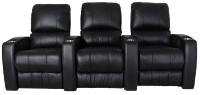 Palliser Pacifico Leather 3-Piece Home Theater Set