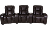 Palliser Leather 3-Piece Home Theater Set