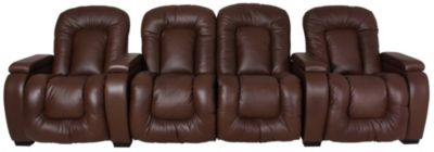 Palliser Rhumba Leather 3-Piece Home Theater Set