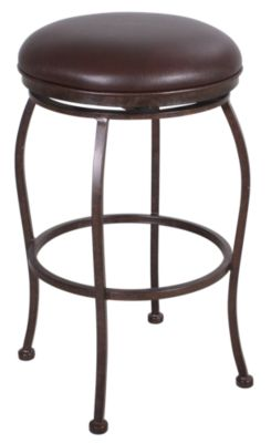 Pastel Furniture Bardstown Backless Metal Counter Stool