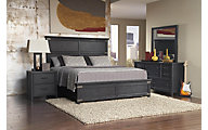 Pulaski Vintage Tempo 4-Piece Queen Bedroom Set
