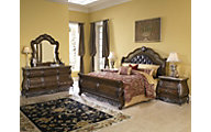 Pulaski Birkhaven 4-Piece King Sleigh Bedroom Set