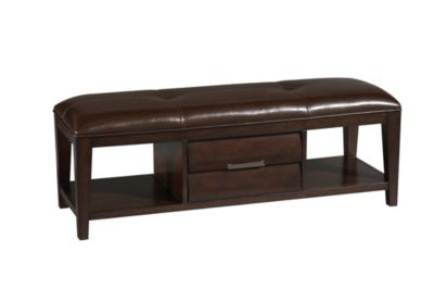 Pulaski Sable Storage Bench