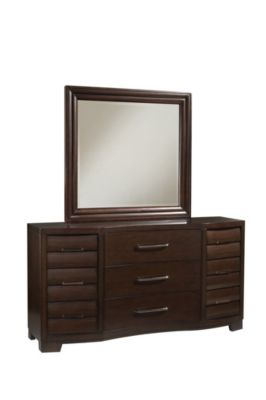 Pulaski Sable Dresser with Mirror