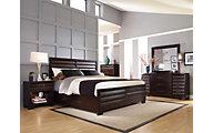 Pulaski Sable 4-Piece Queen Bedroom Set