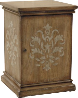 Pulaski Damask Chairside Table