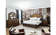 Pulaski Heartland Falls 4-Piece King Bedroom Set