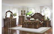 Pulaski San Mateo 4-Piece Queen Sleigh Bedroom Set