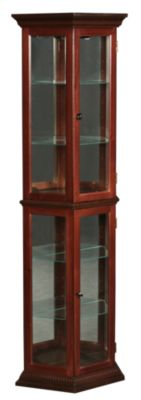 Pulaski Cherry Finished Curio