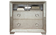 Pulaski Farrah Mirrored Media Chest