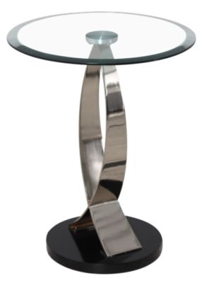 Powell 317 Collection Chairside Table