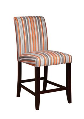 Powell Striped Counter Stool