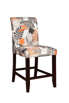 Powell Flower Counter Stool