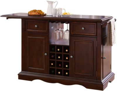 Powell Alton Cherry Kitchen Island