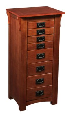 Powell Montgomery Mission Jewelry Armoire