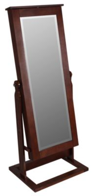 Powell Cheval Mirror with Jewelry Storage
