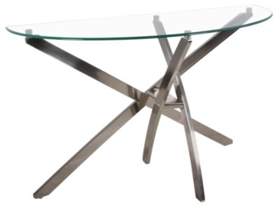 Magnussen Zila Demilune Sofa Table