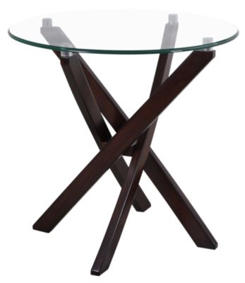 Magnussen Xenia Round End Table