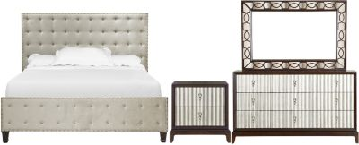 Magnussen Gramercy 4-Piece Queen Bedroom Set
