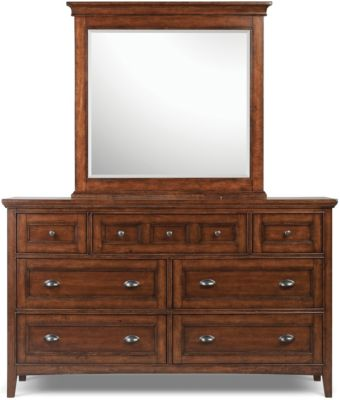 Magnussen Harrison Dresser with Mirror