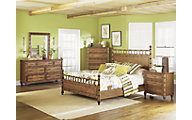Magnussen Palm Bay 4-Piece Queen Bedroom Set