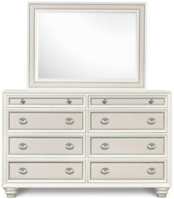 Magnussen Diamond Dresser with Mirror