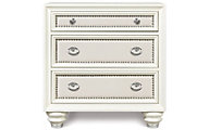 Magnussen Diamond Nightstand