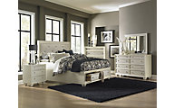 Magnussen Diamond 4-Piece King Storage Bedroom Set