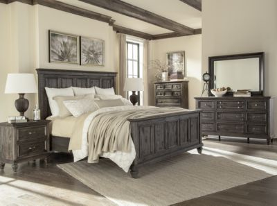 Magnussen Calistoga 4-Piece King Panel Bedroom Set