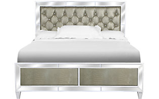 Magnussen Monroe King Mirrored Bed