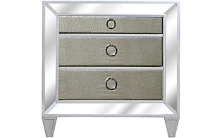 Magnussen Monroe Mirrored Nightstand