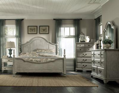 Magnussen Windsor Lane 4-Piece King Bedroom Set