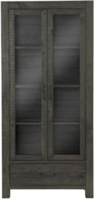 Magnussen Abington Transitional Curio Cabinet
