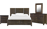 Magnussen Pine Hill 4-Piece King Storage Bedroom Set