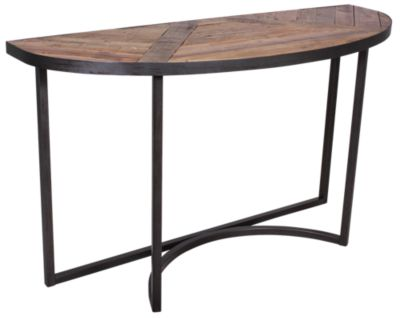 Magnussen Lakeside Demilune Sofa Table