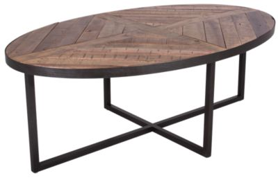Magnussen Lakeside Oval Coffee Table