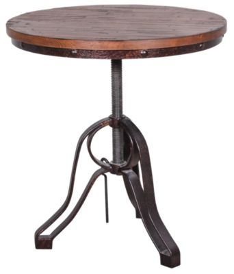 Magnussen Cranfill Round End Table