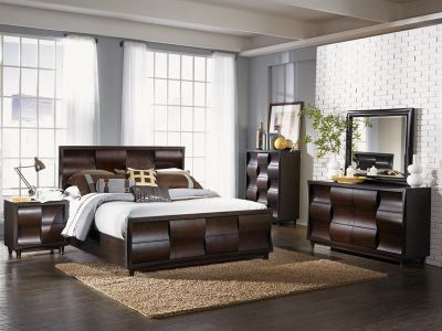 Magnussen Fuqua 4-Piece Queen Bedroom Set