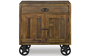 Magnussen River Road Door Nightstand with Casters