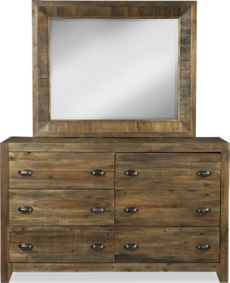 Magnussen River Road Dresser with Mirror