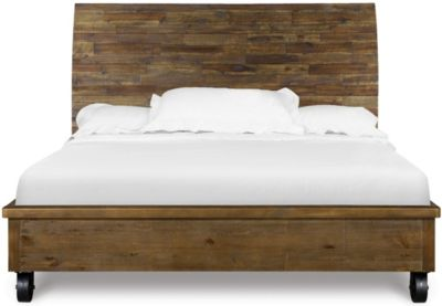 Magnussen River Road Queen Bed with Casters