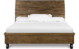 Magnussen River Road King Bed with Casters