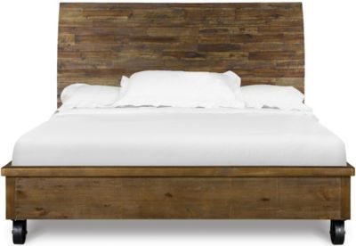 Magnussen River Road California King Bed with Casters