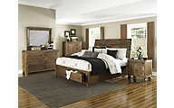 Magnussen River Road 4-Piece Queen Storage Bedroom Set