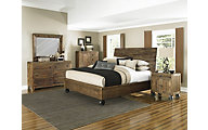 Magnussen River Road 4-Piece Queen Caster Bedroom Set