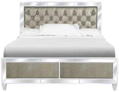 Magnussen Monroe California King Mirrored Bed