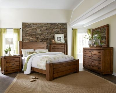 Progressive Maverick 4-Piece King Bedroom Set