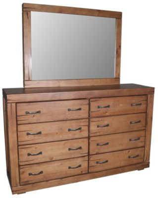 Progressive Maverick Dresser with Mirror