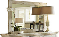 Progressive Willow White Mirror